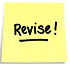 Revise! on Post-it Note