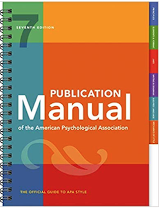 APA 7 Manual Cover